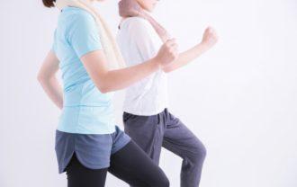 糖化予防に食後に運動する女性のイメージ画像
