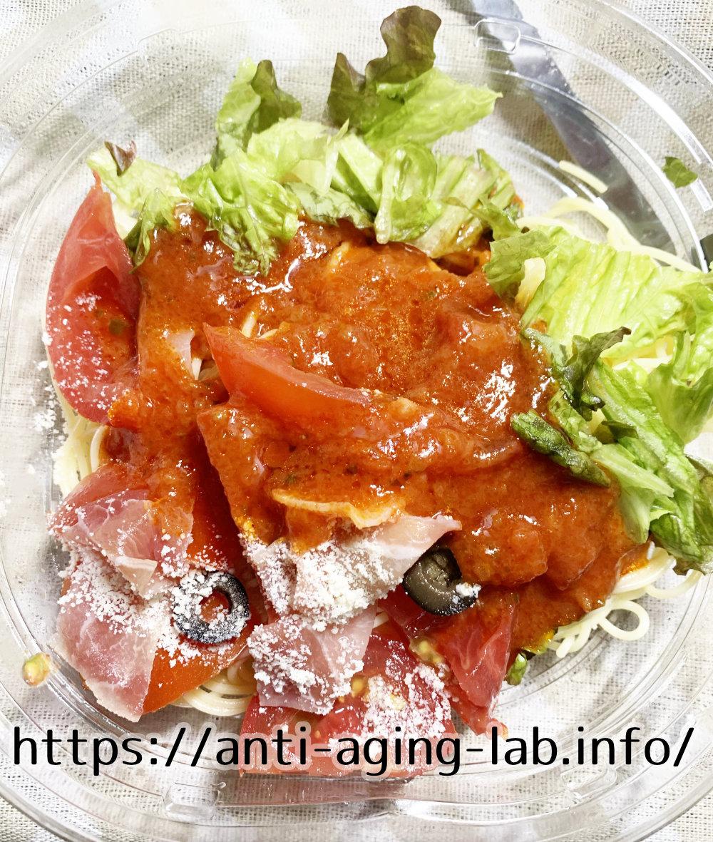 トマト約4個分のリコピン入り 冷製パスタ写真5