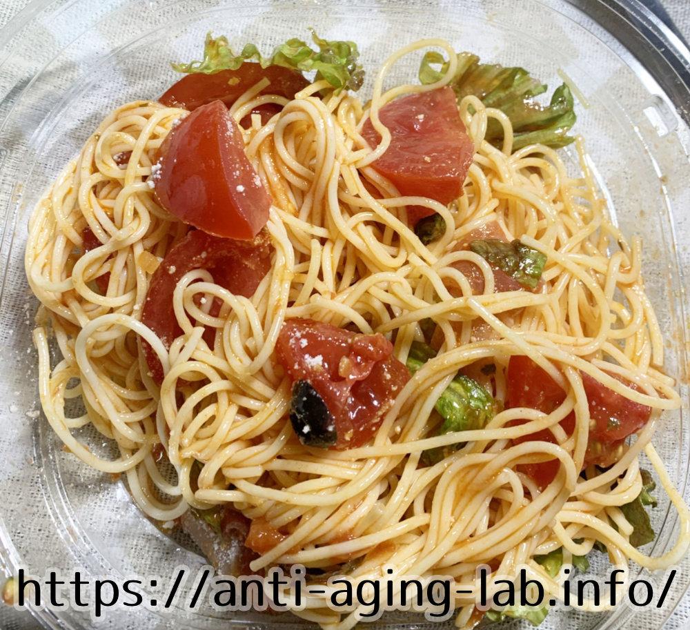 トマト約4個分のリコピン入り 冷製パスタ写真6